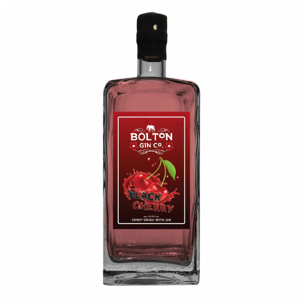 Black Cherry Gin by The Bolton Gin Company